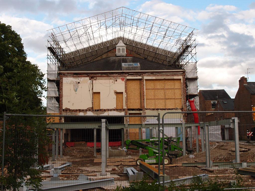 Groves Chapel (back), 11 June 2017