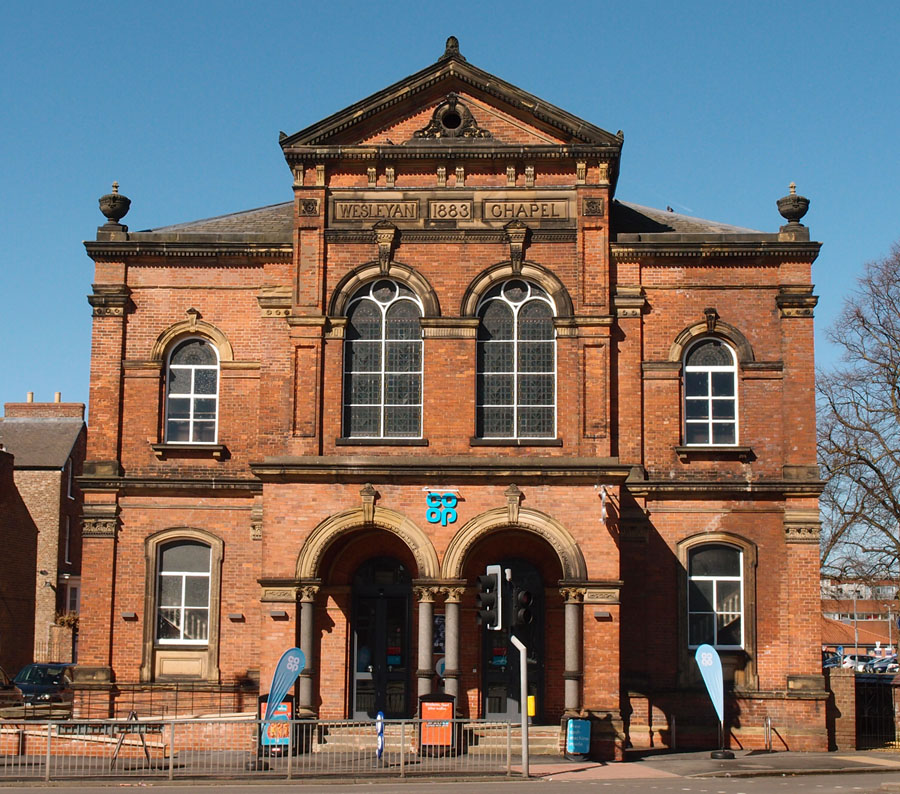 Groves Chapel: the Clarence Street Co-op