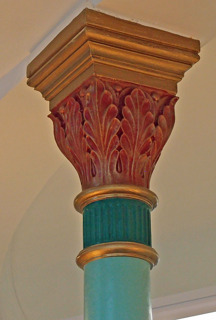 Groves Chapel columns, Clarence St Co-op