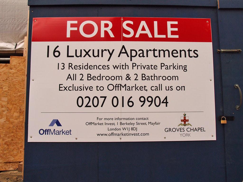 "Groves Chapel sign, luxury, exclusive, ""offmarket"" (June 2017)"