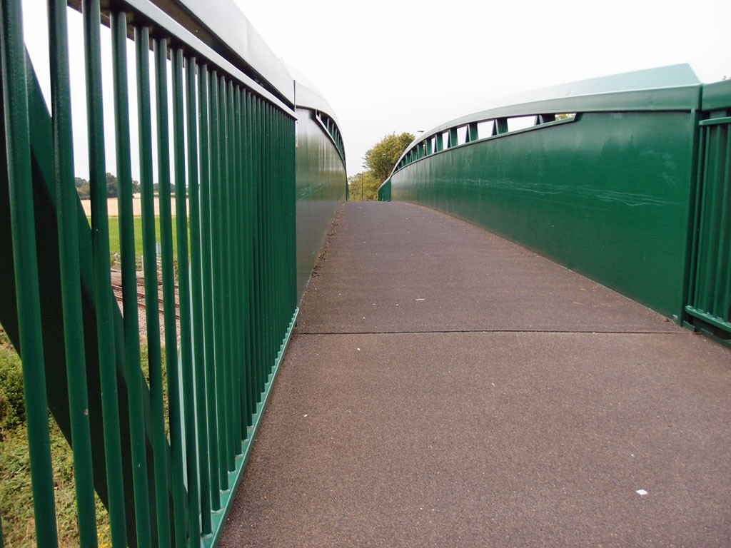 Haxby cycleway bridge, 20 August 2018