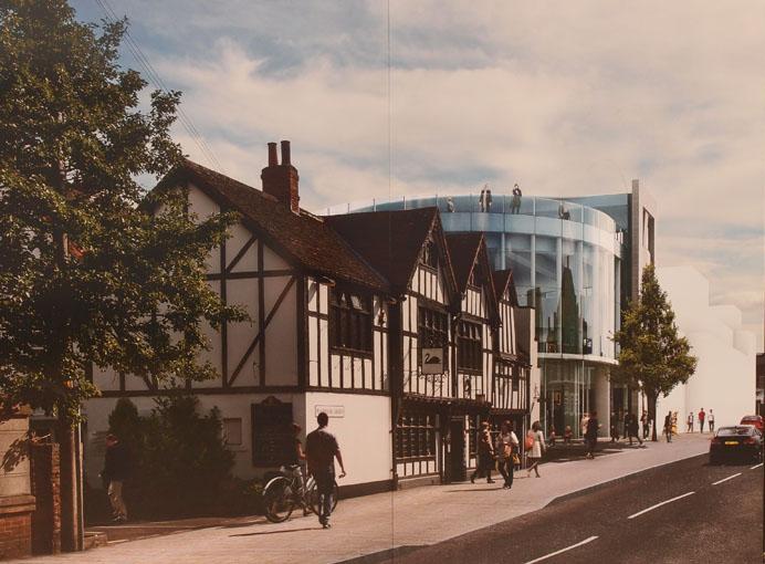 Hiscox building, artist's impression