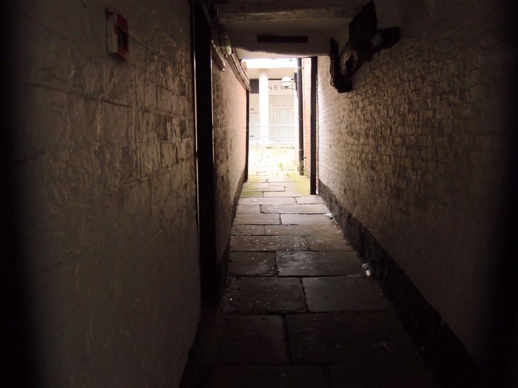 Hornby's Passage, Stonegate, 8 Sept 2015