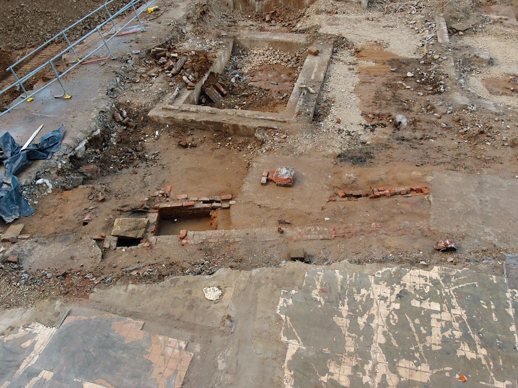 What lies beneath: Hudson House site clearance, Nov 2018