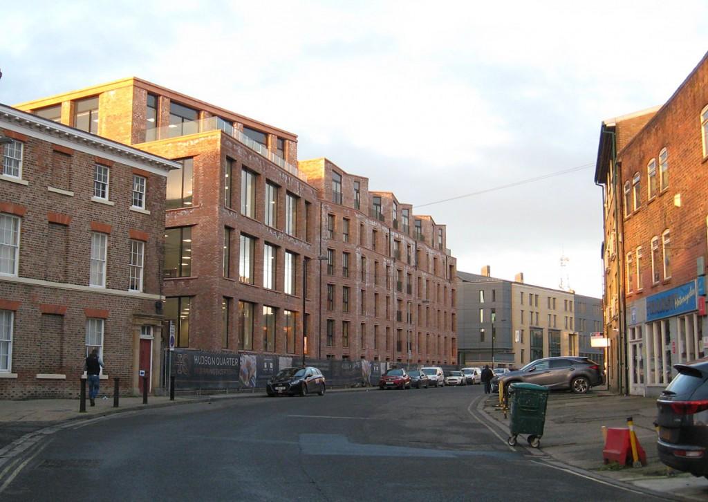The new Hudson Quarter buildings, Toft Green