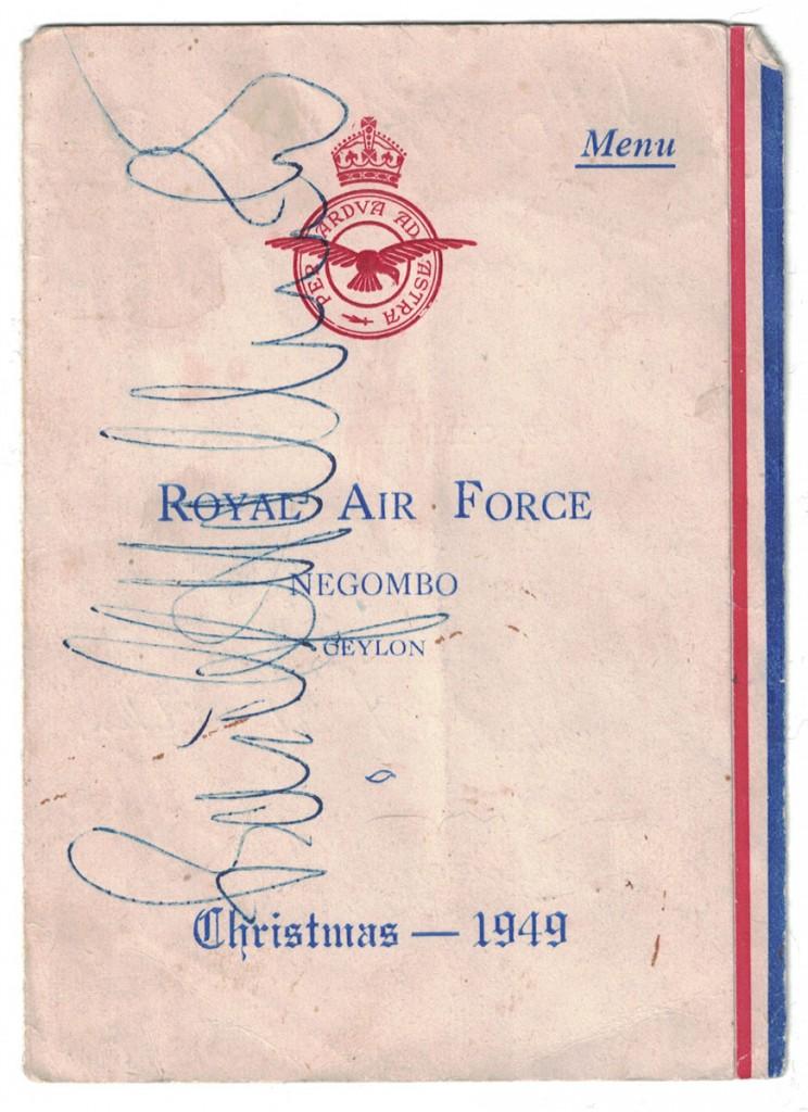 RAF, Ceylon, 1949