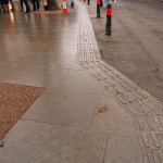 New paving, King's Square