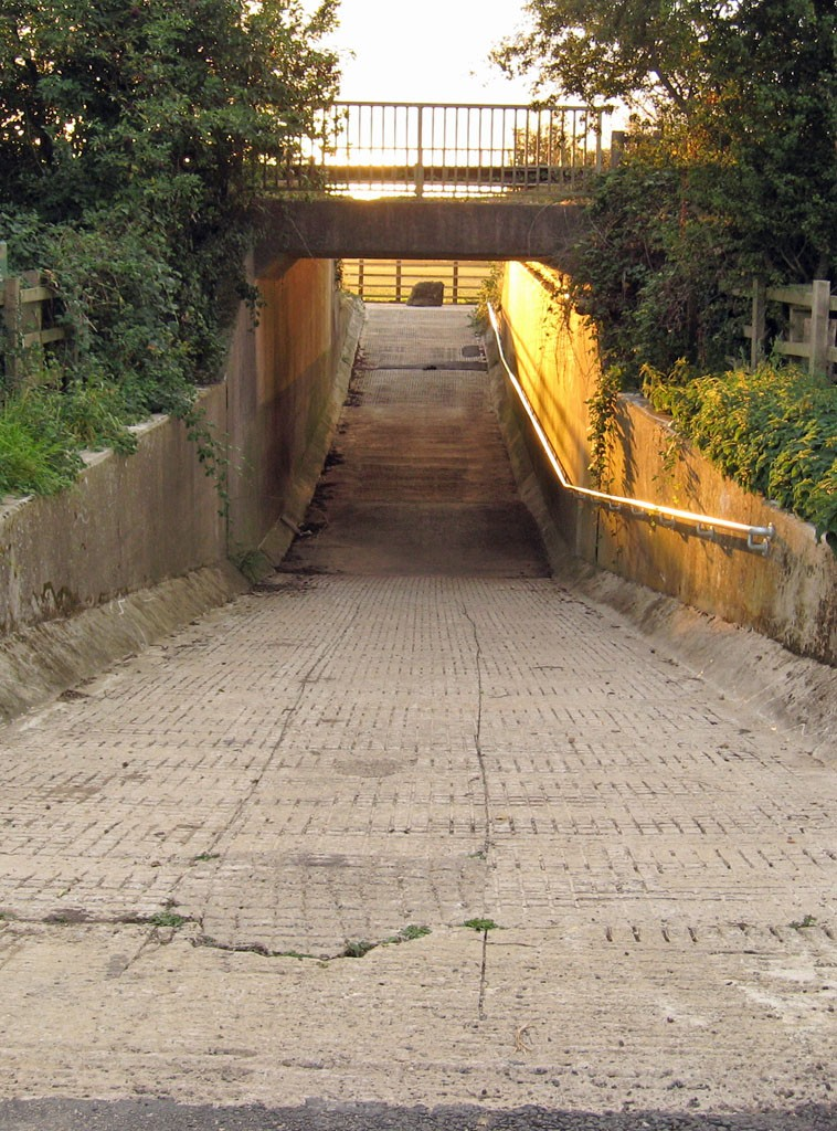 New cycle track underpass, Knapton, Sept 2019