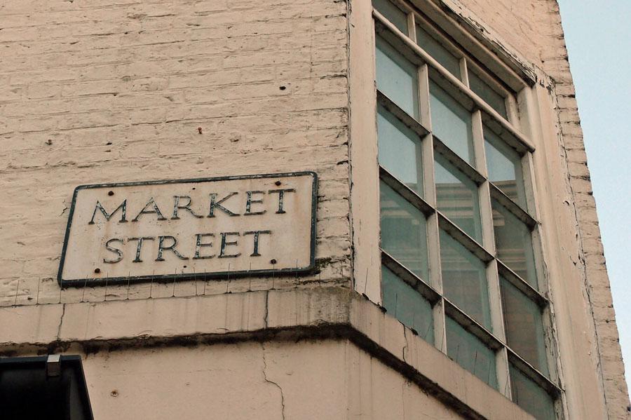 Street sign: Market Street