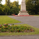 Memorial Gardens and nearby