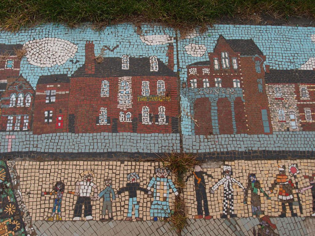Mosaic, Leeman Road Millennium Green