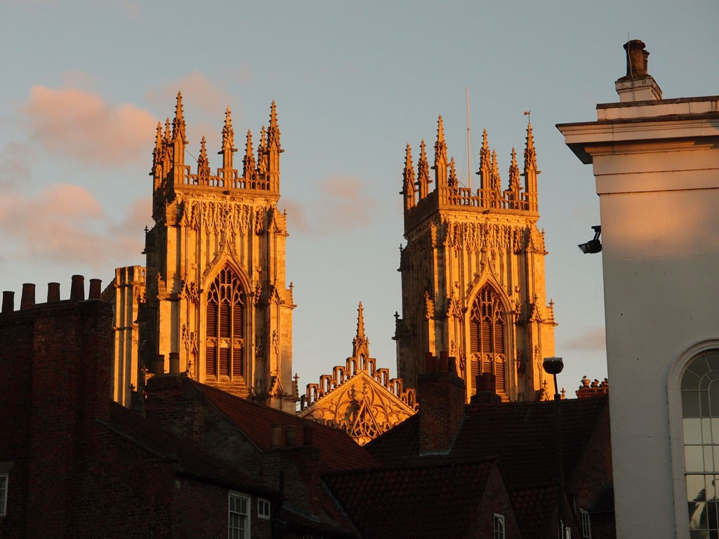 Minster in late afternoon sun, 11 Nov 2018