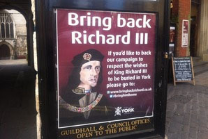 Poster about Richard III