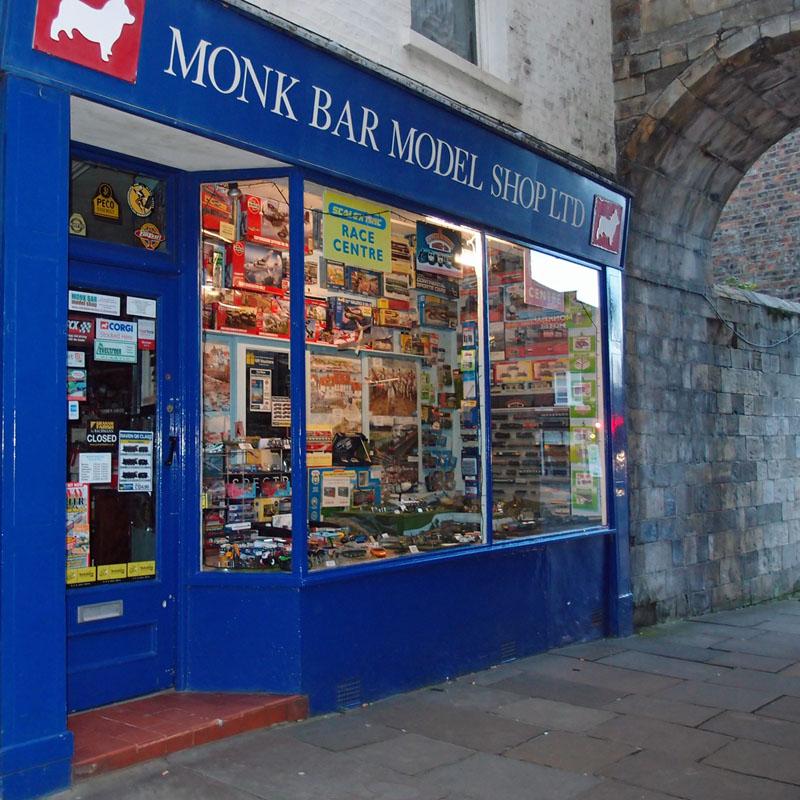Monk Bar Model Shop, 2 Goodramgate
