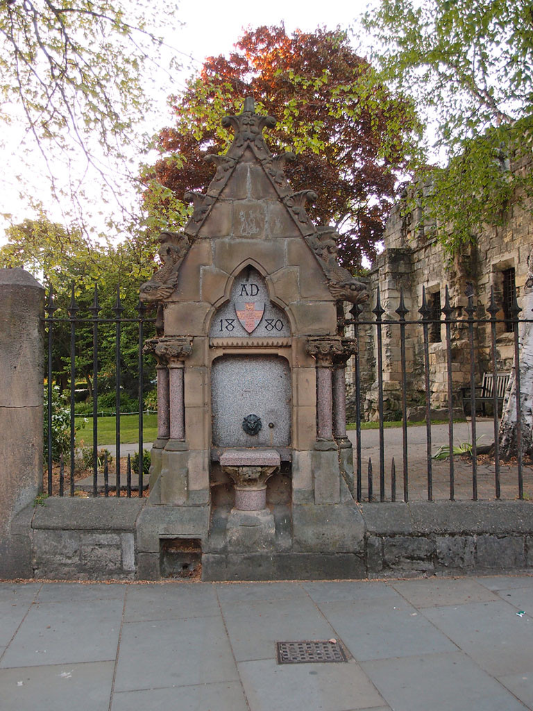 Museum Street's non-operational drinking fountain
