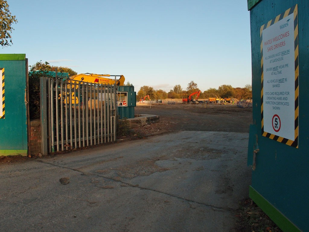 Not much to see at this point: site of new mental health hospital, Haxby Road, 23 Oct 2018