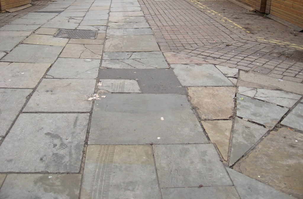 Parliament Street paving, Dec 2019