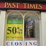 Shops past and present: city centre