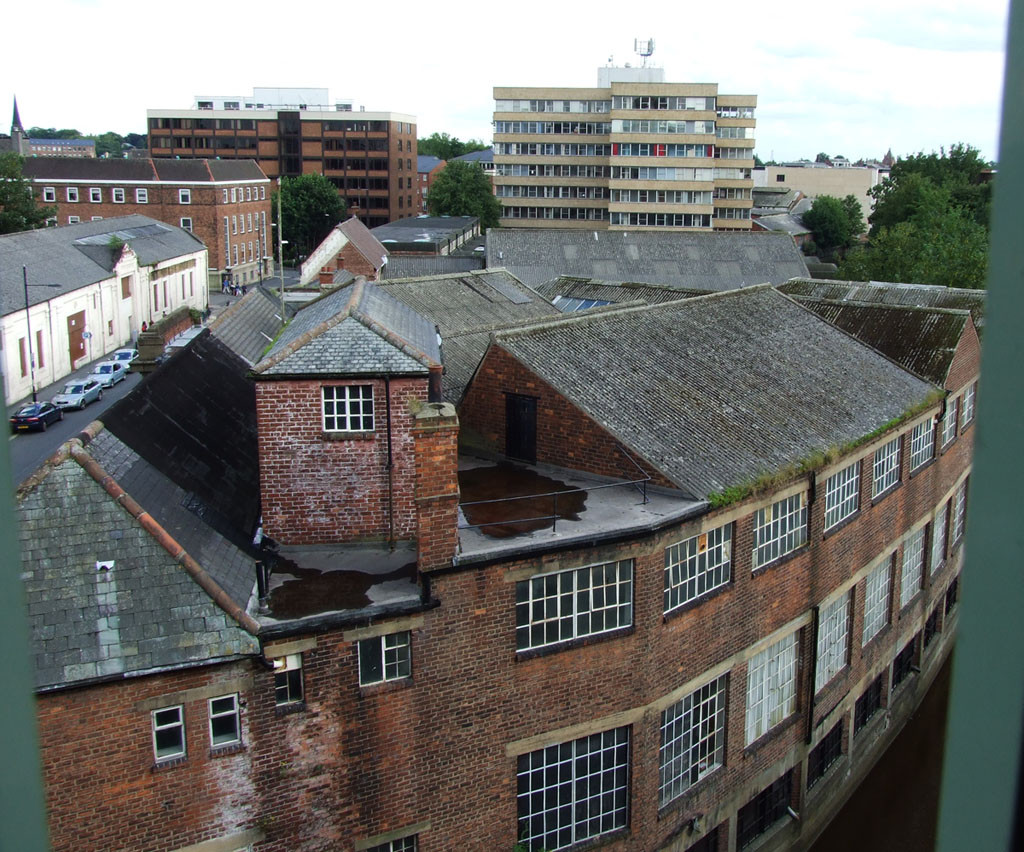 Piccadilly buildings from the multi-storey Piccadilly car park, July 2007