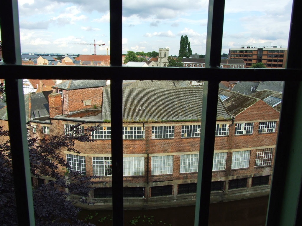 View across the Piccadilly and Walmgate area from the Piccadilly multi-storey car park, July 2007