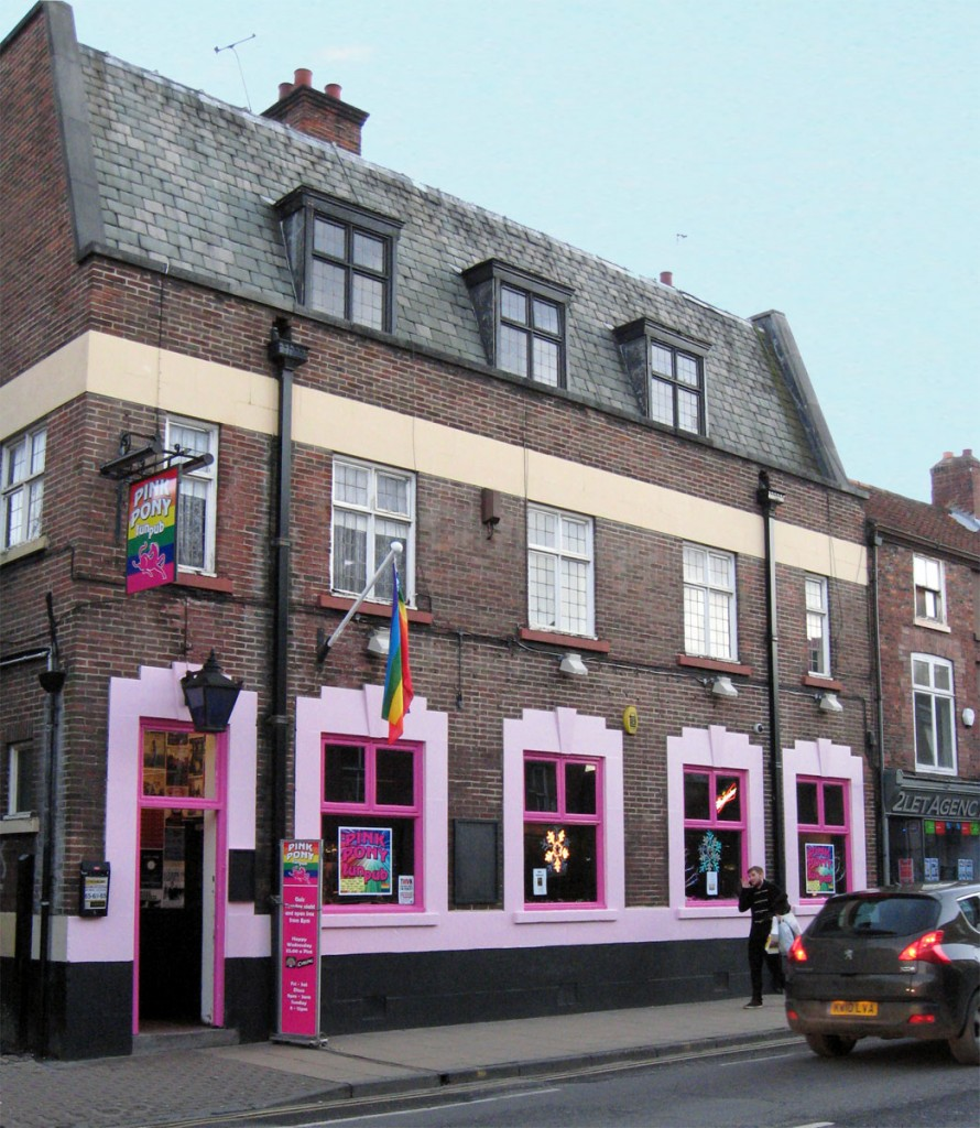Pink Pony, 54 Gillygate, Dec 2012