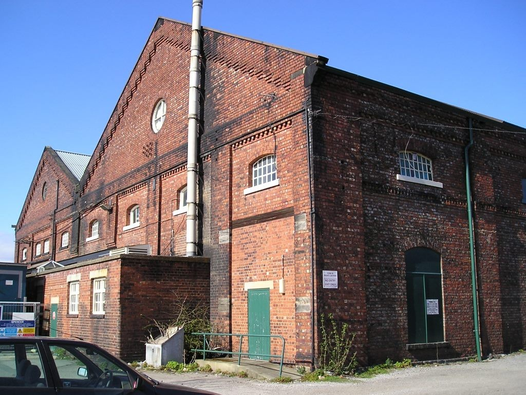 Railway Institute buildings (former rail workshops), 26 April 2006