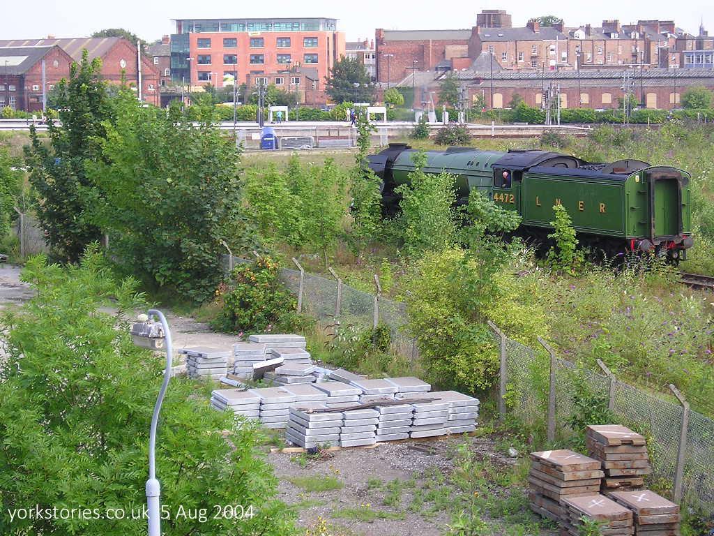Railway land