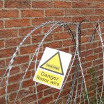 Rowntree's and razor wire