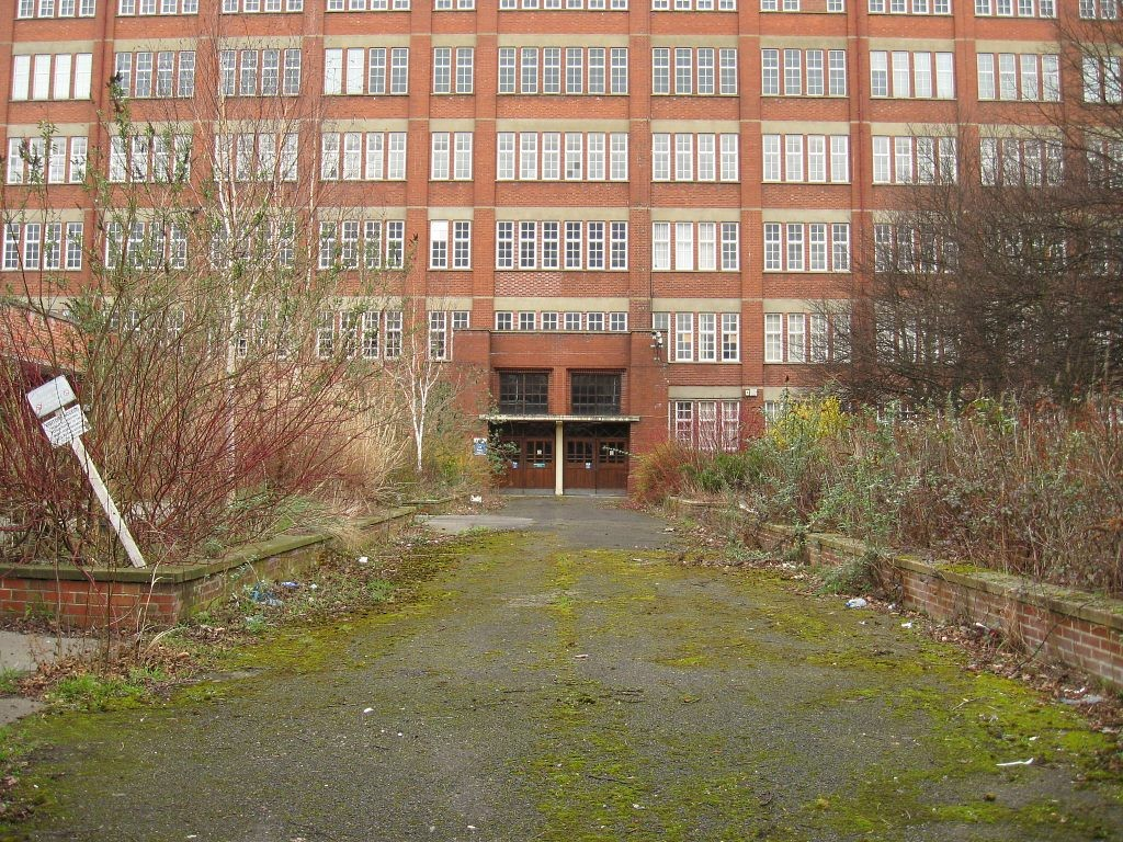 Rowntree factory main entrance, March 2012