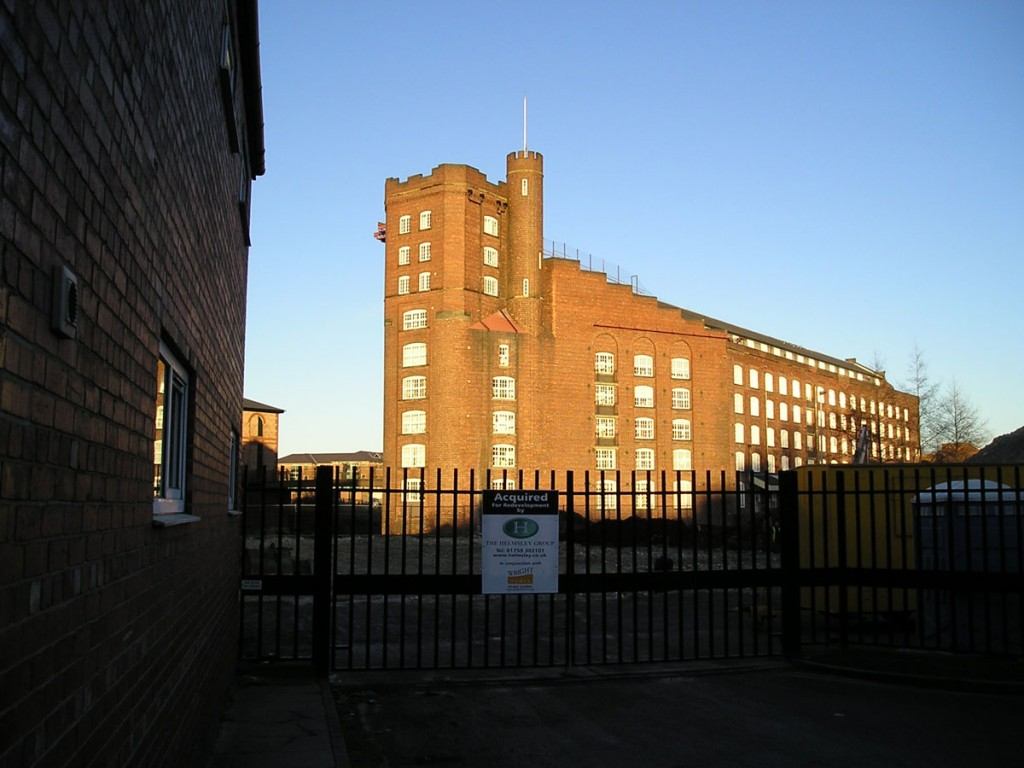 Rowntree Wharf, from Walmgate, December 2004