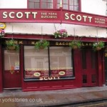Where Scott's was: Petergate