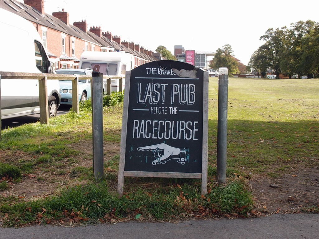 LAST PUB BEFORE THE RACECOURSE (The Knavesmire Inn)