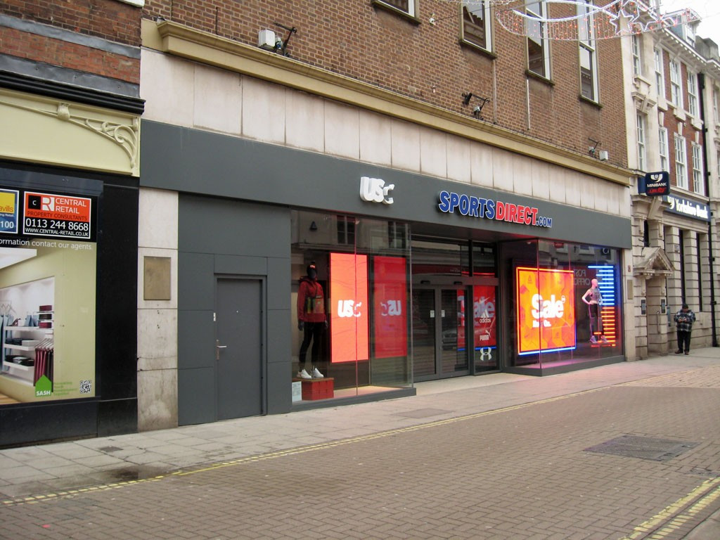 New Sports Direct store (formerly BHS), Coney Street