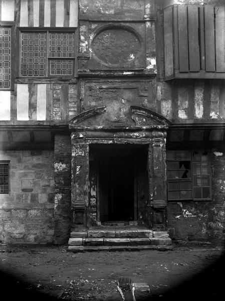 Doorway, St William's College, circa 1900 (city archives: more information)