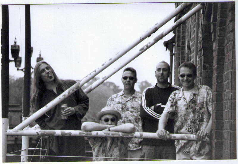 On the Bonding balconies: York's own the Surf Sluts, 2000 or thereabouts