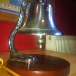 York fire station bell, 1938
