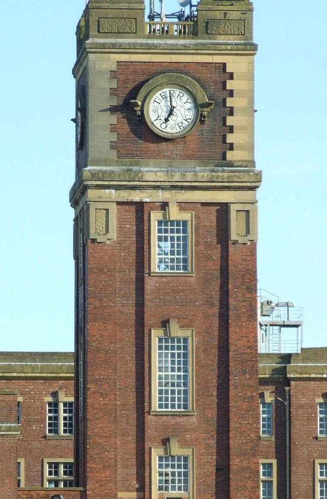 Terry's clock tower, July 2007. Photo: Lisa @YorkStories