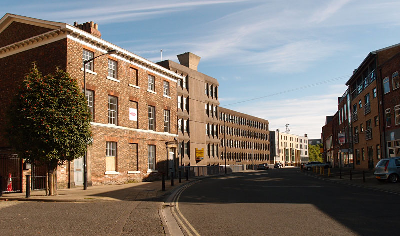 Hudson House and Toft Green, 24 Aug 2014
