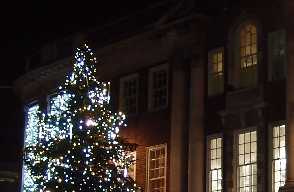 Tree lights, St Helen's Square, 21 Dec 2017