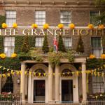 Fabulous frontage, Grange Hotel