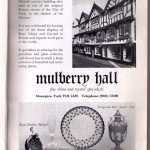 Mulberry Hall, 1970s advertisements
