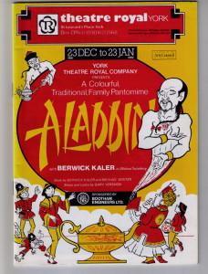 Theatre programme, 1981 panto