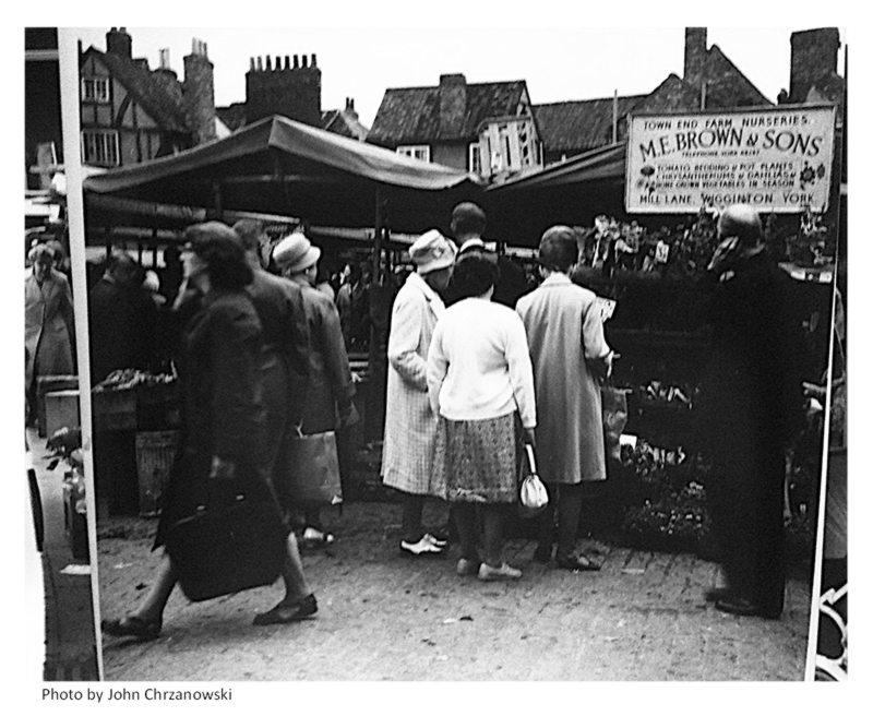 1960s, market stalls