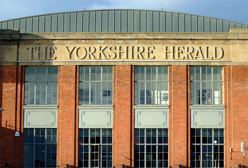 Yorkshire Herald building, 2 July 2007