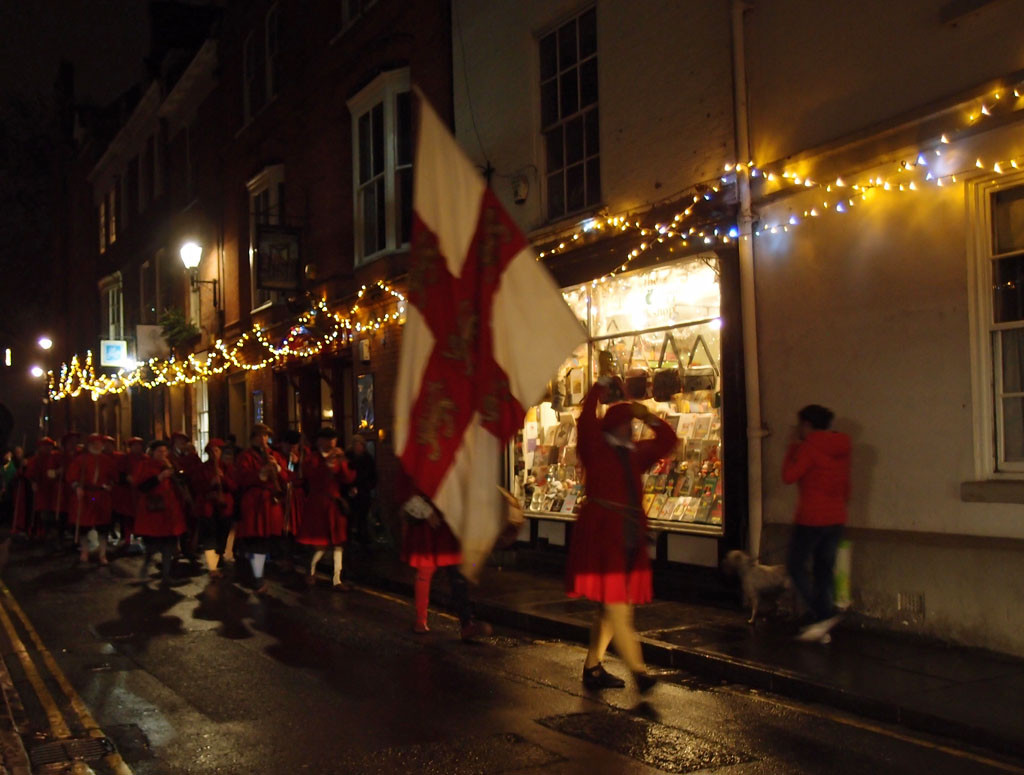 Yule Riding, 21 Dec 2017, on Petergate